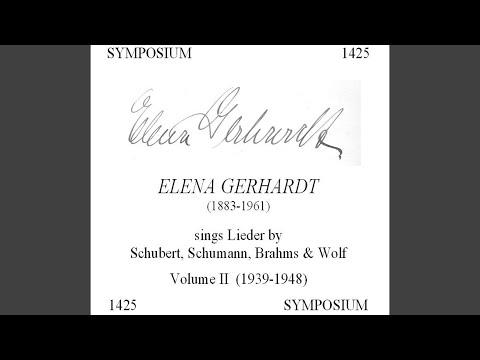 11 Zigeunerlieder (Gypsy-Songs) , Op. 103: No. 6. Roslein dreie in der Reihe