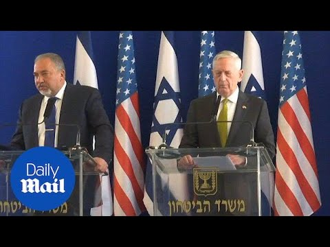General Mattis Talks With Israel About Syria's Chemical Weapons - Daily Mail