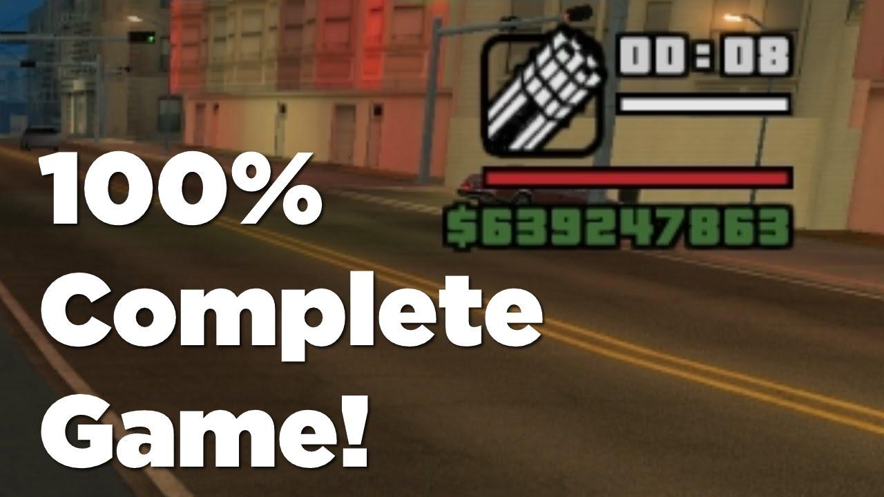 GTA San Andreas: King of San Andreas - 100% Savegame Mod Tutorial
