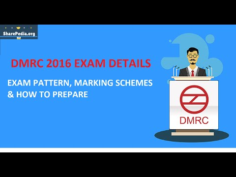 HOW TO PREPARE FOR DMRC 2016 EXAM WITH COMPLETE DETAILS
