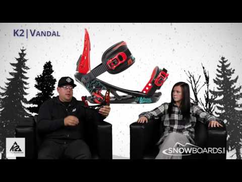2016 K2 Vandal Kids Binding Overview By SnowboardsDotCom