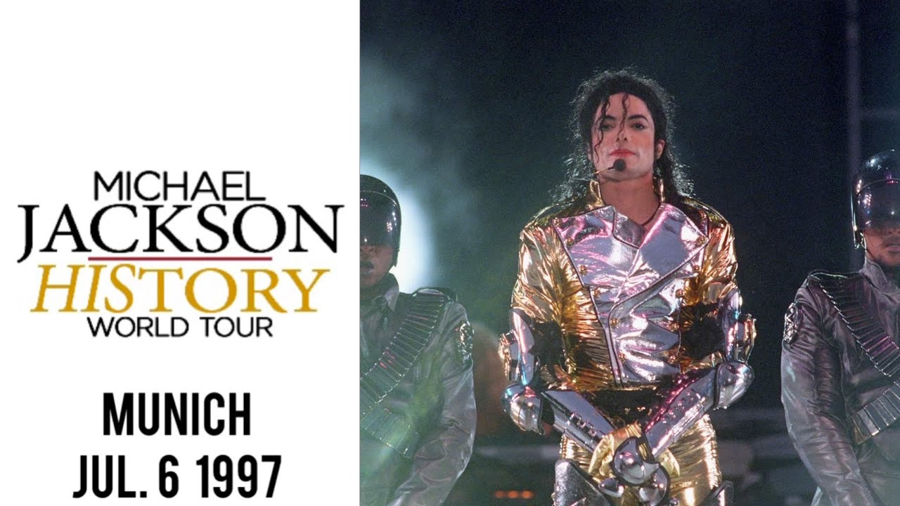 Download Michael Jackson - HIStory Tour Live in Munich (July 6, 1997)