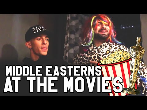 MIDDLE EASTERN PEOPLE AT THE MOVIES