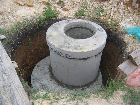 Септик шамбо строим - правила строительства теория и схемы / Shambaugh build a septic tank