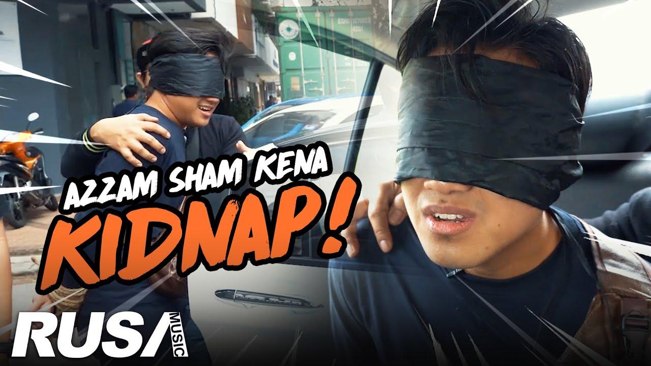 PRANK KENA KIDNAP! Azzam Sham Ditangkap Dan Di Sumbat Dalam Kereta Dan Dibawa Ke...!