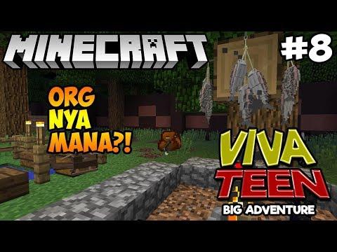 MINECRAFT VIVA TEEN #08 : KEKUATAN SUPER GEMMAD DAN SARYU!?