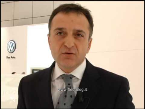 Antonio Pappalardo - Volkswagen Leasing Italia - Fleetblog al Motorshow 2008