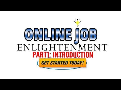 ONLINE JOB ENLIGHTENMENT   PART 1 : INTRODUCTION