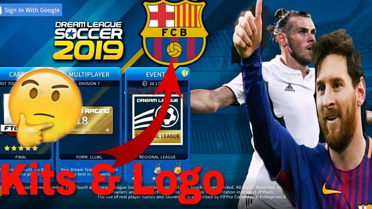 Dream League Soccer 2019 | How To Create Barcelona Team Kits & Logo