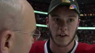 Toews on-ice post-game interview