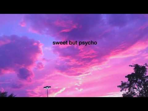 ava max-sweet but psycho (slowed)