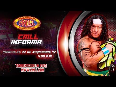 CMLL INFORMA 22  DE NOVIEMBRE DEL 2017
