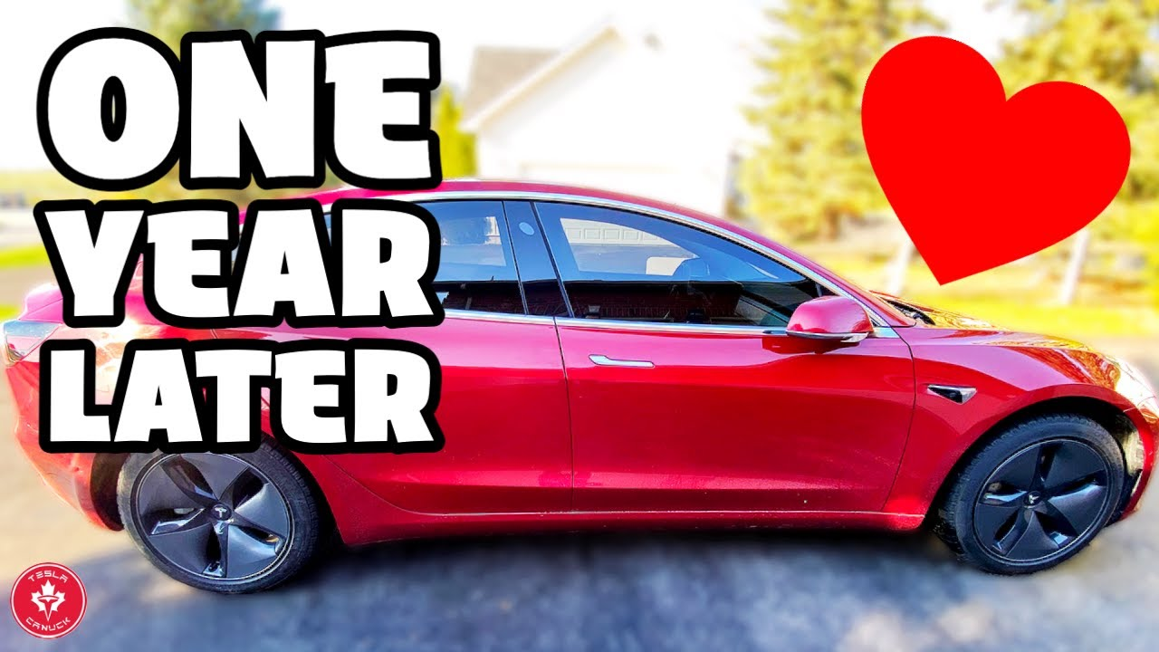 HONEST Tesla Model 3 Review One Year Later (I'm still IN LOVE)!