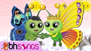 Fly Fly The Butterfly | Nursery Rhymes TV [Vocal 4K]