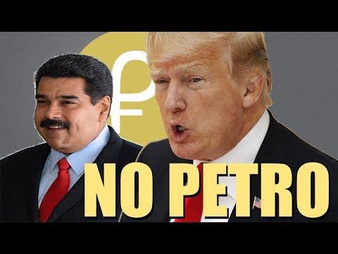 U.S. Bans Use of Venezuela's Cryptocurrency El Petro