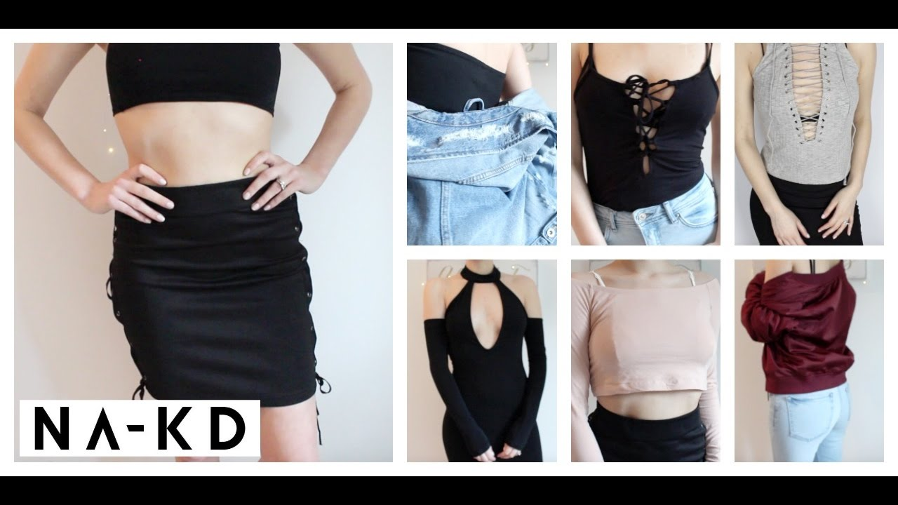 8d95fa2675a6 NA-KD Try On Clothing Haul   Review - YouTube