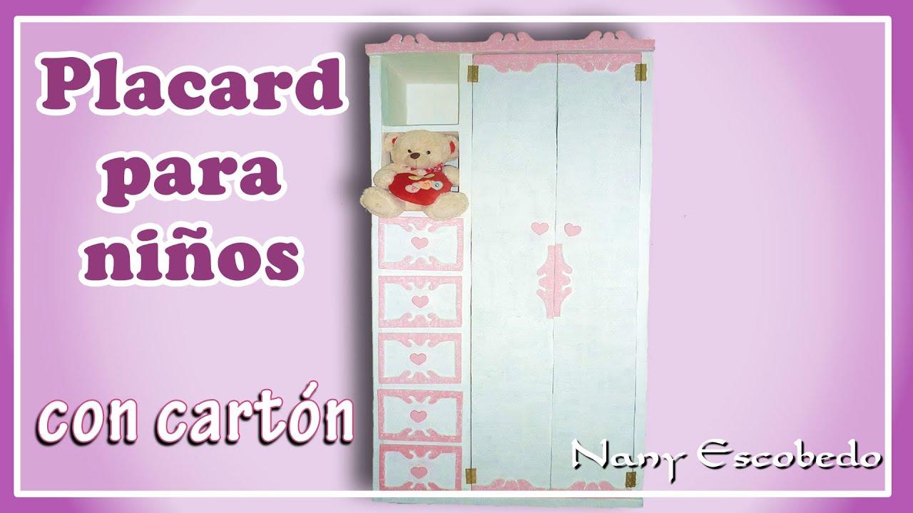PLACARD PARA NIÑOS CON CARTÓN   #8C3776 1920x1080