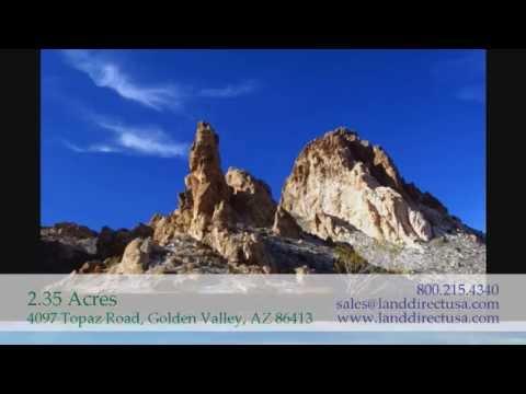 2.35 acres - 4097 Topaz Road, Golden Valley, AZ 86413 - 800-215-4340