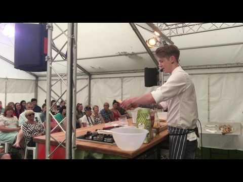 How to make a Focaccia - Fleet Food Festival 2017 Demonstration in FULL