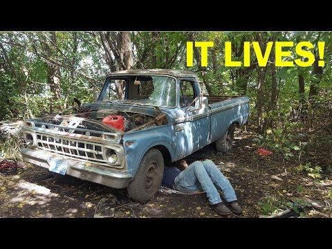 Abandoned F250 Revival! First Start in 26 Years -- Part 2