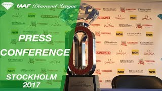 Stockholm Press Conference, 2017 - IAAF Diamond League