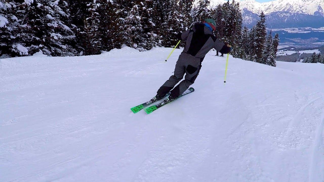 Tipps für einen schönen runden kurzschwung skifahren