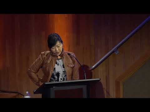 poet Monica Youn at FIT, October 12, 2017