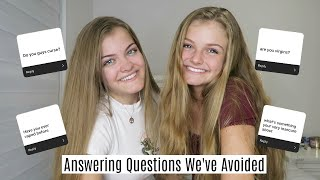 Answering Questions We've Been Avoiding ~ Jacy and Kacy