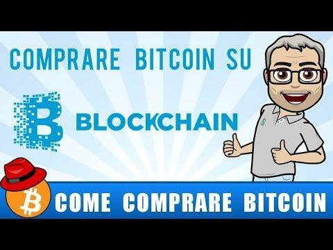 Come comprare bitcoin su Blockchain - Guida semplice