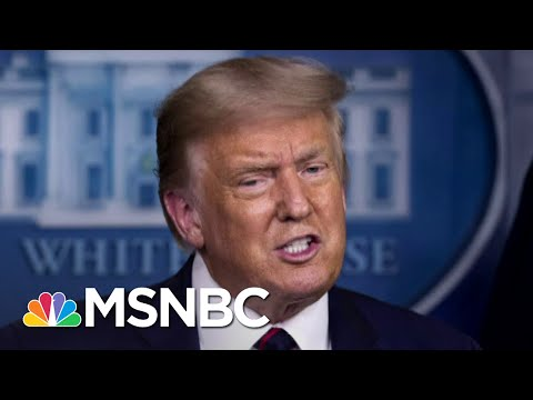 Trump Flip-Flops On Mail Voting... But Only For Florida | The 11th Hour | MSNBC