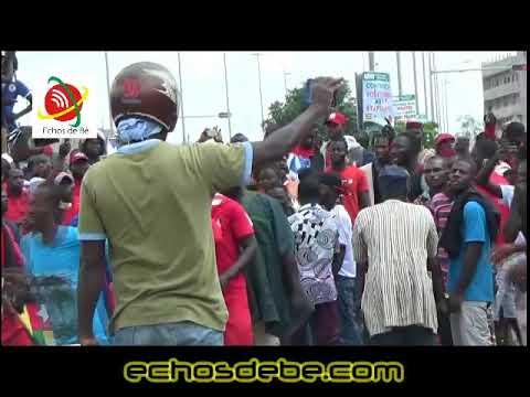 Echos de Bè: Les temps forts de la marche du PNP au carrefour Bodjona
