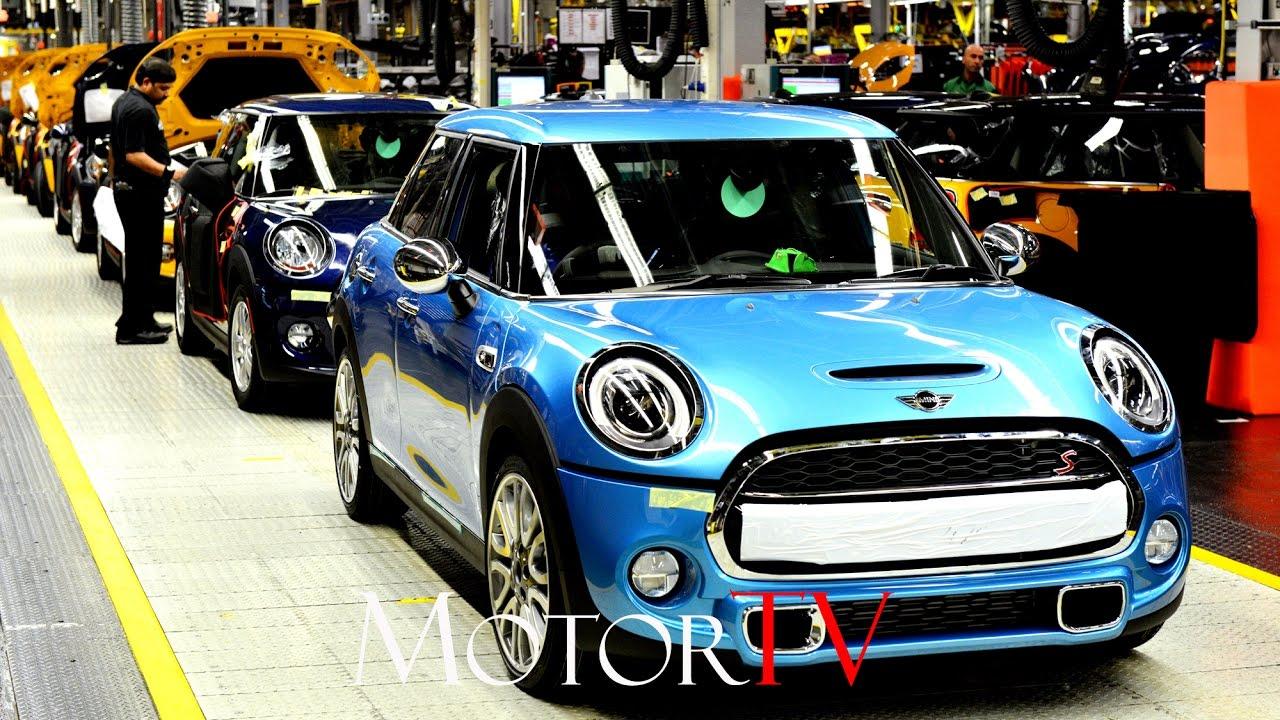Car Factory 2016 Mini Production L Oxford Plant Uk Youtube