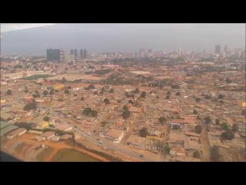 arrival flight TAP - Luanda, Angola