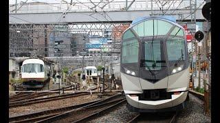 2019 06 近鉄・名古屋線 米野駅 50000系・しまかぜ
