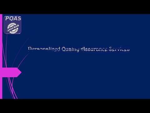 PQAS -  Quality Assurance Consultant in Australia