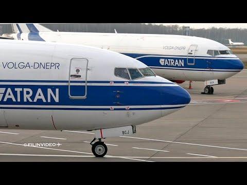 10-минутный рейс из Шереметьево во Внуково / Boeing 737-400 Волга-Днепр (АТРАН) 2020