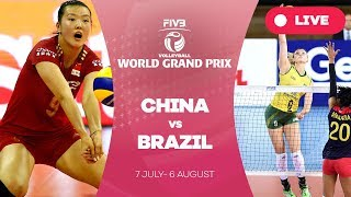 China v Brazil - Group 1: 2017 FIVB Volleyball World Grand Prix