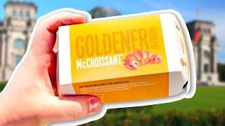 Круассаны в Макдоналдс! Что едят в Германии?