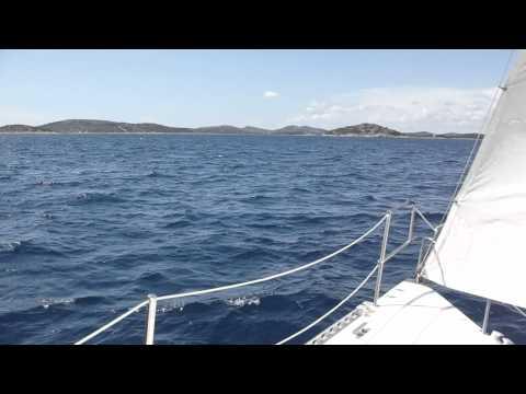 Sailing with Adriatic Nautical Academy - Academia Navalis Adriatica on 09.06.2011