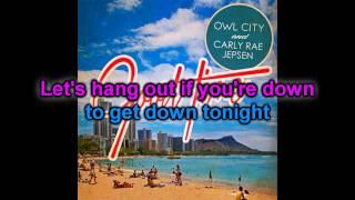 Karaoke : Good Time - Owl City / Carly Rae Jepsen