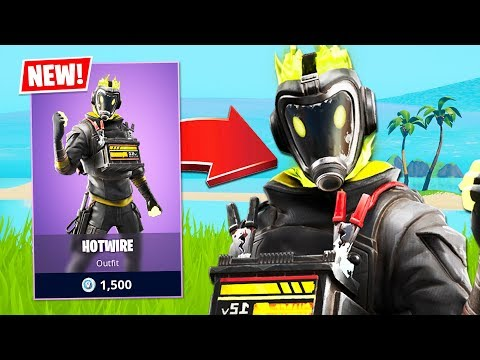 New Hotwire Skin! *FUNNY RANDOM DUOS* (Fortnite Battle Royale)
