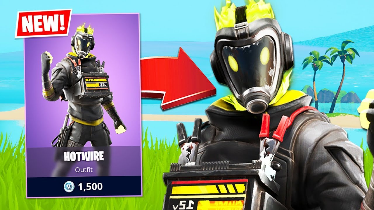 New Hotwire Skin! *FUNNY RANDOM DUOS* (Fortnite Battle Royale) thumbnail