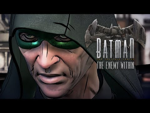 RIDDLER. FINNA. PAY!! | Batman:The Enemy Within | Lets Play - Part 2