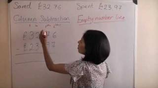Column Method (Subtraction) - Key Stage 2 Maths Help