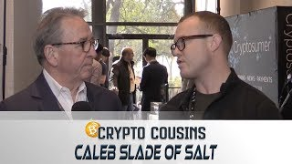 Interview With Caleb Slade of Salt | 2018 Bitcoin Ethereum Blockchain Super Conference