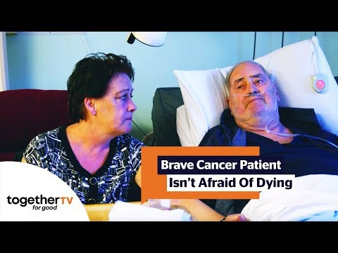 Brave Lung Cancer Patient Isn't Afraid of Dying | The Hospice