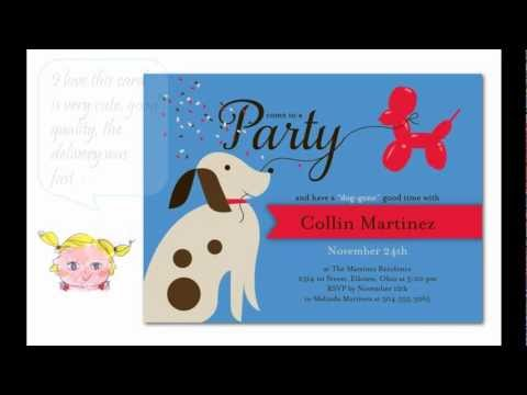 cutest-puppy-birthday-party-invitations-for-dogs-&-dog-lovers