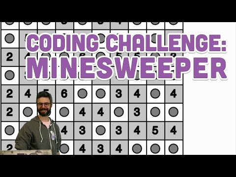 Coding Challenge #71: Minesweeper