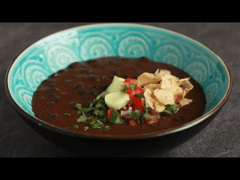 Black Bean Soup in the Instant Pot