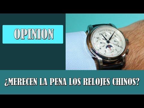 Relojes chinos ¿Merecen la pena?